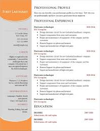 examples of resumes create resume regard to  85 wonderful professional looking resume examples of resumes