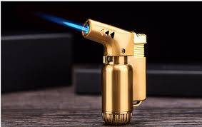 2019 <b>Mini Metal</b> Spray Gun Compact Butane Jet <b>Flame Torch Turbo</b> ...