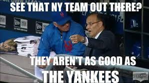 The Greedy Pinstripes: Joe Torre Tells The Mets How It Is... Meme via Relatably.com