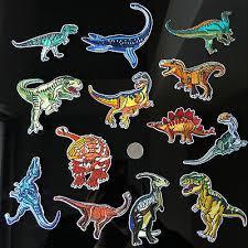 13Pc Rex <b>Dinosaurs Embroidery</b> Patch <b>Sew</b> Iron on <b>Applique</b> Jacket ...