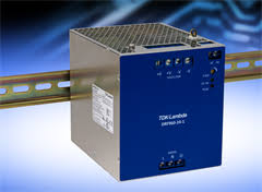 <b>DIN rail power</b> supplies from TDK-Lambda UK