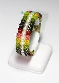[Tutorial] Twin Ixora   Jewelry Making   Jewelry, <b>Beaded</b> bracelets ...