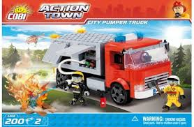 <b>Конструктор City Pumper</b> Truck - <b>COBI</b>-1468 - купить в Rc-Like