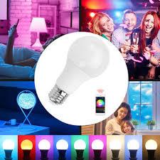 <b>e27 4.5w smart wireless</b> bluetooth mesh rgbw led light <b>bulb</b> app ...