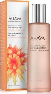 <b>Сухое масло для</b> тела <b>Ahava</b> Deadsea Plants, мандарин и кедр ...