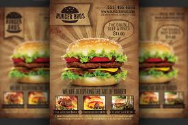 business card psd templates business card sample burger fast food promotion flyer template
