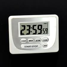 Mini LCD <b>Digital</b> Count Up Down <b>Kitchen Cooking Timer Magnetic</b> ...