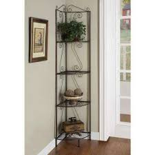 h 4 shelf copper metal bookcase bookcases for home office