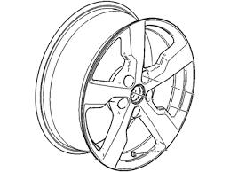 Комплект <b>дисков R17</b> x 7J 5*115 4шт Chevrolet <b>Volt</b> 11-15 хром ...