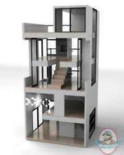 bennett doll house by brinca dada brinca dada bennett house modern dolls