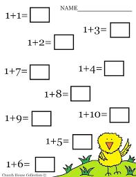 1000+ ideas about Easter Worksheets on Pinterest | Worksheets ...... Math Addition Kindergarten, Kinder Addition, Kindergarten Transition, Printable Preschool, Math Worksheets For Kids, Worksheet Math