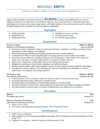 professional plumbing assistant templates to showcase your talent resume templates plumbing assistant
