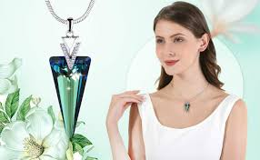 <b>Warme Farben</b> Crystal from Swarovski Women Necklace Fine ...