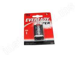 <b>Батарейка крона</b> SHD 9V, 1 шт <b>Eveready</b> 6F22 Enr-022754 купить ...