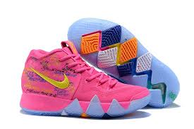 "2018 <b>New Hot Sale</b> Nike Kyrie 4 ""What The"" Christmas Pink Teal In ..."