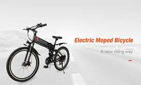 $584 with coupon for <b>Samebike LO26 Smart</b> Folding <b>Moped</b> Electric ...