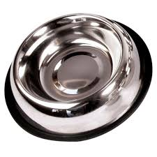 Rosewood <b>Non</b>-<b>Slip</b> Stainless Steel <b>Cat Bowl</b> | Zoom