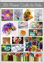 20 <b>Gorgeous Flower</b> Crafts {Crafts for Kids}