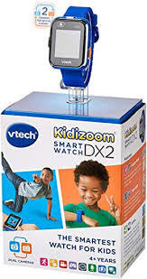 <b>VTech</b> 193803 <b>Kidizoom Smart Watch DX2</b> Toy, Blue: Amazon.co.uk ...