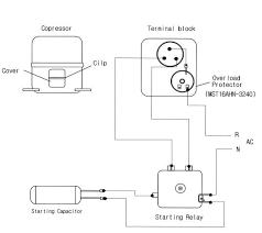 air conditioning compressor wiring diagram car wiring diagram Air Compressor Starter Wiring Diagram sanyo cae2420z compressor wiring diagram motor starter wiring diagram air compressor on motor images free, air compressor wiring diagram 230v 1 phase