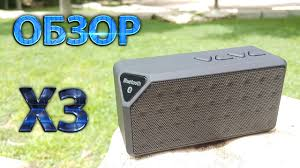 Обзор портативной <b>колонки</b> - Bluetooth speaker X3 - YouTube