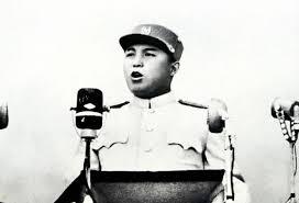 Resultado de imagem para kim il sung hablando