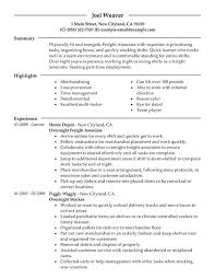 resume examples retail management resume sample retail free free objective for resume in retail