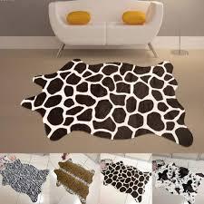 contemporary leopard print rug for floor decoration ideas chic zebra print rug