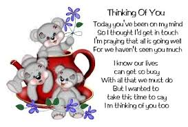 thinking of you quotes and sayings - Evan Grant - Peg It Board
