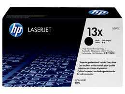 Genuine HP Brand <b>13X</b> Q2613X Black High Yield Toner Cartridge ...