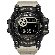 SMAEL Men Military Army LED <b>Digital</b> Big Dial <b>Sports Outdoor</b> ...