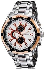 <b>Curren 8023 Men's</b> Stainless Steel Analog Quartz Watch M ...