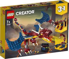 <b>Конструктор LEGO Creator</b> 31102 <b>Огненный</b> дракон