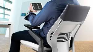 gesture ergonomic office desk chair steelcase bkm office furniture steelcase case studies