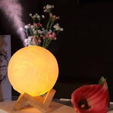 <b>Humidifier</b> Moon Lamp <b>Air Humidifier 880ML</b> 3D Moon Light Diffuser ...