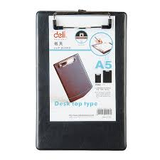10 pieceslot good quality faux pu leather writing board black file clip a5 clipboard clip boards