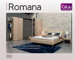 catalogue romana chambre lit celio loft