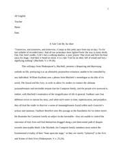 ap english literature and composition essay great expectations pages ap english literature and composition macbeth and sound and fury essay