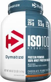 Dymatize <b>ISO100 Hydrolyzed</b> Whey Protein Isolate Powder ...