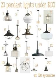 20 great pendant lights under 100 kitchen lighting 320 sycamore blog ceiling lighting kitchen contemporary pinterest lamps transparent