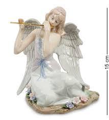 "Ангелы. <b>JP</b>-<b>16/11</b> Статуэтка ангел ""Волшебная флейта"" (<b>Pavone</b> ..."