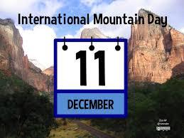 International Mountain Day - Planeta.com
