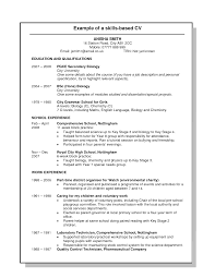 skills resume example  tomorrowworld coskills resume example examples