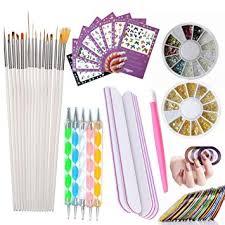 Nail Art Tools Manicure Kit 15PCS Nail Painting ... - Amazon.com