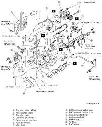 1999 mazda protege vacuum diagram 1999 image intake manifold on 1999 mazda protege vacuum diagram