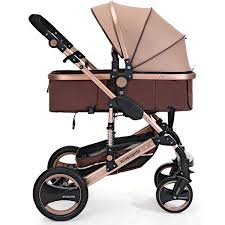 Wholesale- <b>Fashion Luxury</b> Baby Stroller <b>6 Colors</b> Baby Carriage ...
