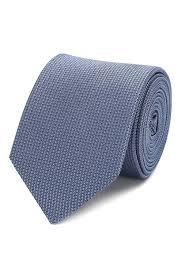 Мужской голубой <b>шелковый галстук HUGO</b> — купить за 4800 руб ...