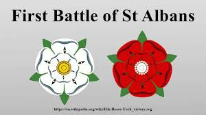 「First Battle of St Albans」の画像検索結果