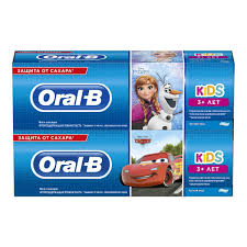 <b>Oral</b>-<b>B Kids</b> Frozen & Cars <b>Зубная Паста</b>