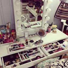 charming bedroom makeup vanity with lights design modern bedroom for girls ideas featuring charming makeup table mirror